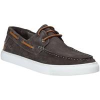 Sapatos Homem Mocassins Lumberjack SM62604 001 A01 Cinzento