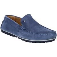 Sapatos Homem Mocassins Rogers 701 Azul