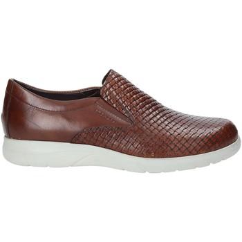Sapatos Homem Slip on Stonefly 211281 Castanho
