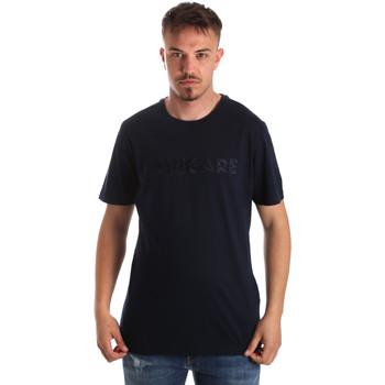 Textil Homem T-Shirt mangas curtas Navigare NV31070 Azul