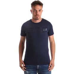 Textil Homem T-Shirt mangas curtas Navigare NV31081 Azul