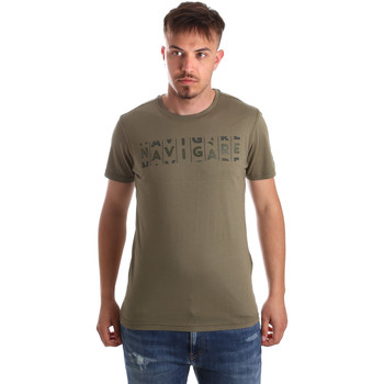 Textil Homem T-Shirt mangas curtas Navigare NV31081 Verde