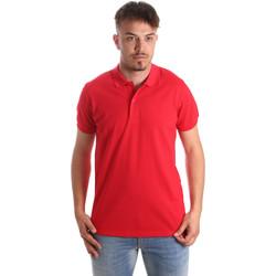 Textil Homem Polos mangas curta Navigare NV82001 Vermelho