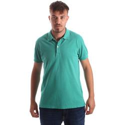 Textil Homem Polos mangas curta Navigare NV82086 Verde