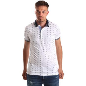 Textil Homem Polos mangas curta Navigare NV82099 Branco