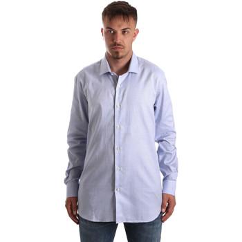 Textil Homem Camisas mangas comprida Navigare NV90005 FR Azul