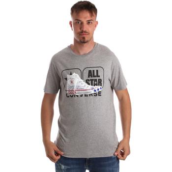 Textil Homem T-Shirt mangas curtas Converse 10017575-A01 Cinzento