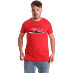 Textil Homem T-Shirt mangas curtas U.S Polo Assn. 51520 51655 Vermelho