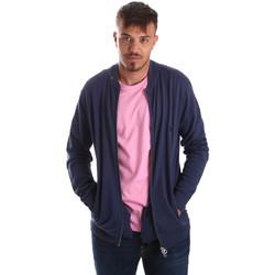 Textil Homem Casacos de malha U.S Polo Assn. 51727 51433 Azul
