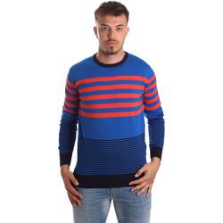 Textil Homem camisolas U.S Polo Assn. 51727 51438 Azul