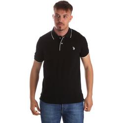 Textil Homem Polos mangas curta U.S Polo Assn. 50336 51263 Preto