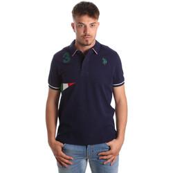 Textil Homem Polos mangas curta U.S Polo Assn. 41029 51252 Azul