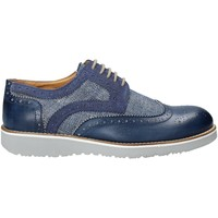 Sapatos Homem Sapatos Exton 5105 Azul