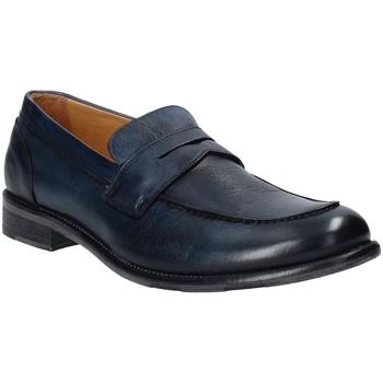Sapatos Homem Mocassins Exton 3106 Azul