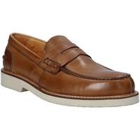 Sapatos Homem Mocassins Exton 9102 Castanho