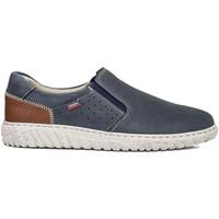 Sapatos Homem Slip on CallagHan 18503 Azul