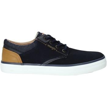 Sapatos Homem Sapatilhas Wrangler WM91121A Azul