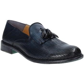 Sapatos Homem Mocassins Exton 3105 Azul