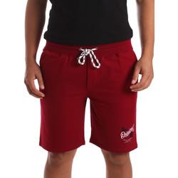 Textil Homem Shorts / Bermudas Key Up 2F26I 0001 Vermelho