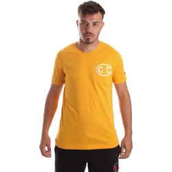 Textil Homem T-Shirt mangas curtas Champion 213251 Amarelo