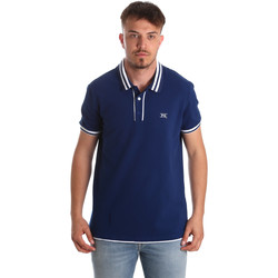 Textil Homem Polos mangas curta NeroGiardini P972210U Azul