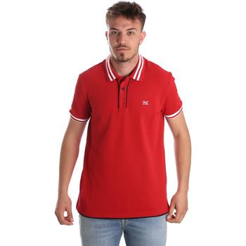 Textil Homem Polos mangas curta NeroGiardini P972210U Vermelho