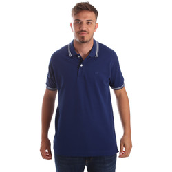 Textil Homem Polos mangas curta Key Up 2Q70G 0001 Azul