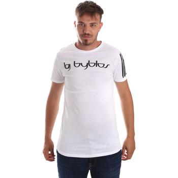 Textil Homem T-Shirt mangas curtas Byblos Blu 2MT0016 TE0046 Branco
