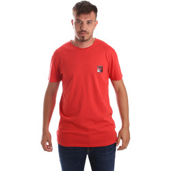Textil Homem T-Shirt mangas curtas Byblos Blu 2MT0010 TE0045 Vermelho