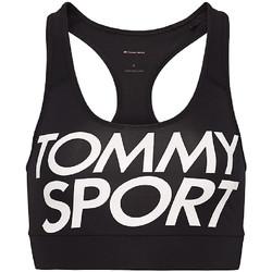 Textil Mulher Tops e soutiens de desporto Tommy Hilfiger S10S100070 Preto