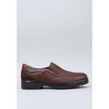 Sapatos Homem Mocassins Fluchos F1046 Castanho