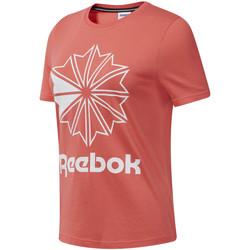 Textil Mulher T-Shirt mangas curtas Reebok Sport DT7223 Rosa