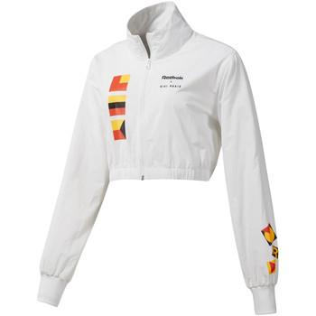 Textil Mulher Jaquetas Reebok Sport DY9376 Branco