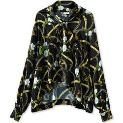 Textil Mulher camisas Liu Jo W19499T5335 Preto