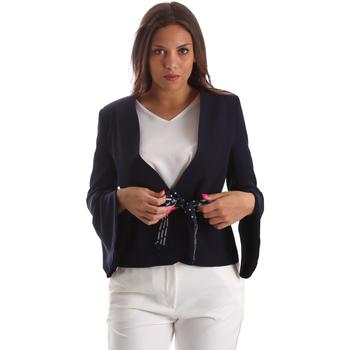 Textil Mulher Casacos/Blazers Fracomina FR19SP668 Azul