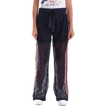 Textil Mulher Calças de treino Fracomina FR19SP905 Azul