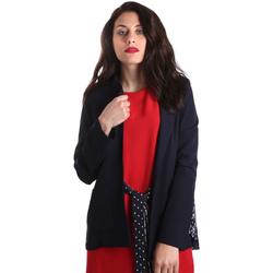 Textil Mulher Casacos/Blazers Fracomina FR19SP006 Azul