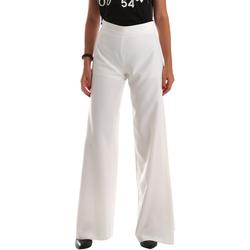 Textil Mulher Calças finas / Sarouels Fracomina FR19SP637 Branco