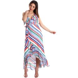 Textil Mulher Vestidos compridos Fracomina FR19SP594 Branco