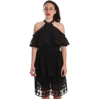 Textil Mulher Vestidos curtos Fracomina FR19SP539 Preto
