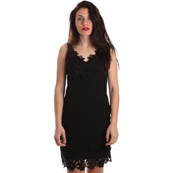 Textil Mulher Vestidos curtos Fracomina FR19SP024 Preto
