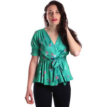 Textil Mulher Tops / Blusas Fracomina FR19SP474 Verde