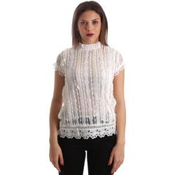 Textil Mulher Tops / Blusas Fracomina FR19SP521 Branco