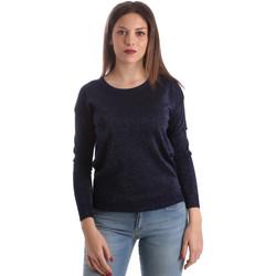 Textil Mulher camisolas Fracomina FR19SP8009 Azul