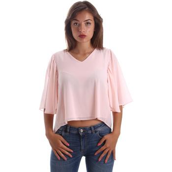 Textil Mulher Tops / Blusas Fracomina FR19SP468 Rosa