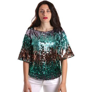 Textil Mulher Tops / Blusas Fracomina FR19SP525 Verde