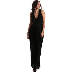 Textil Mulher Vestidos compridos Fracomina FR19SM673 Preto