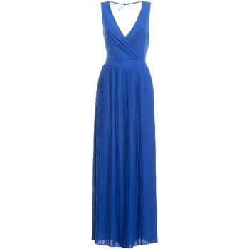 Textil Mulher Vestidos compridos Fracomina FR19SM673 Azul
