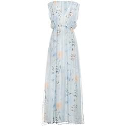 Textil Mulher Vestidos compridos Fracomina FR19SMCARLINDA Azul