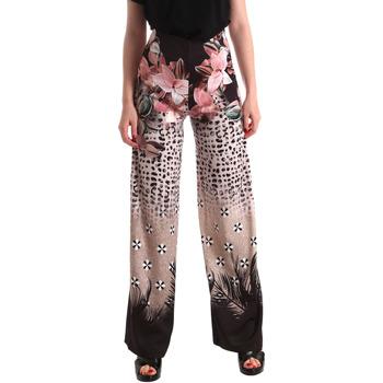 Textil Mulher Calças finas / Sarouels Fracomina FR19SM014 Preto